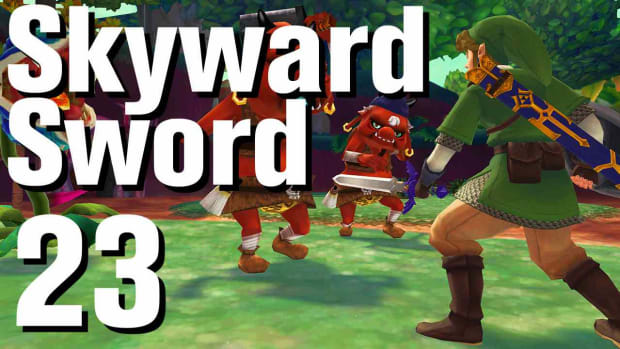 W. Zelda: Skyward Sword Walkthrough Part 23 - Skyview Temple Promo Image