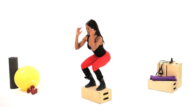 E. How to Do a Box Jump in Plyometrics Promo Image