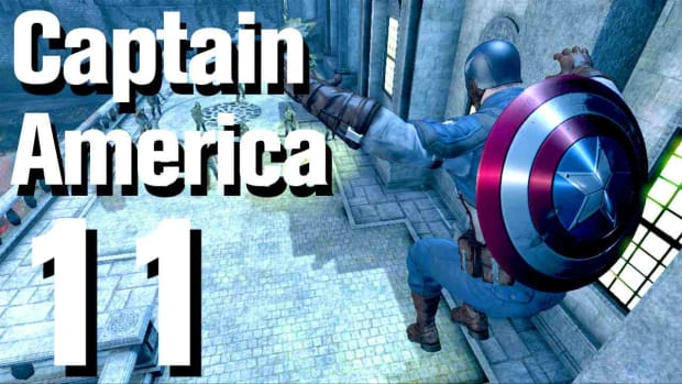 K. Captain America Super Soldier Walkthrough: Chapter 4 Promo Image
