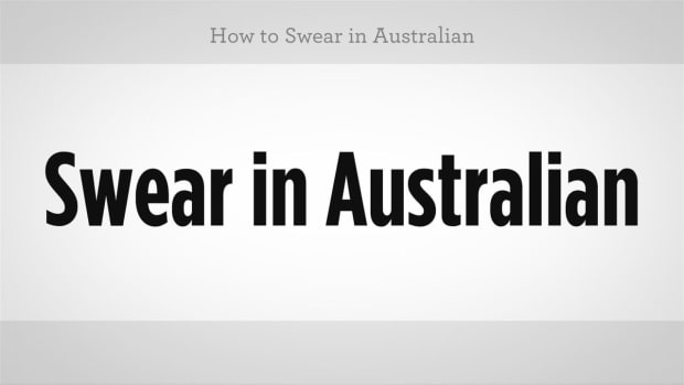 ZI. How to Swear in Australian Slang Promo Image
