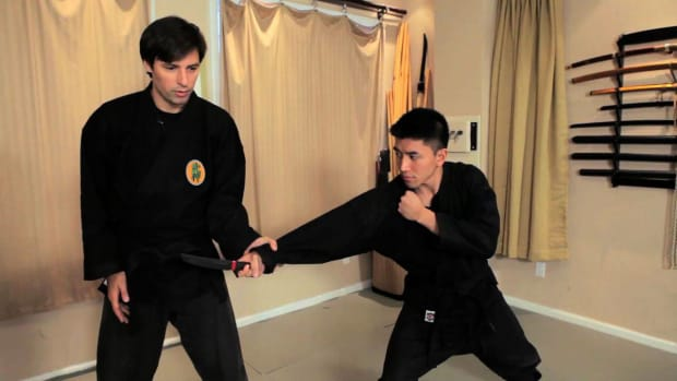 ZZY. How to Defend against a Knife in Ninjutsu Promo Image