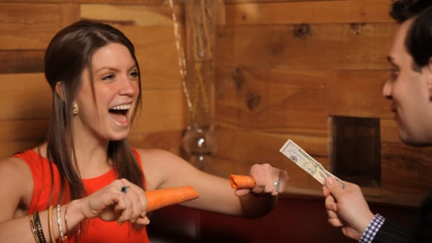 O. How to Slice a Carrot with a Dollar Bill Promo Image