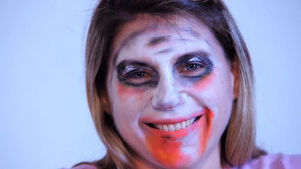 Z. How to Paint a Zombie with Face Paint Promo Image