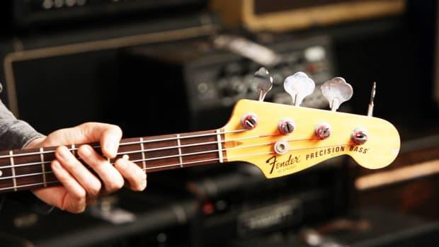 G. Fender Precision Bass Guitar Basics Promo Image