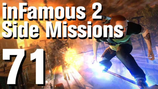 ZZZZK. inFamous 2 Walkthrough Side Missions Part 71: Hidden Package - Graveyard Promo Image