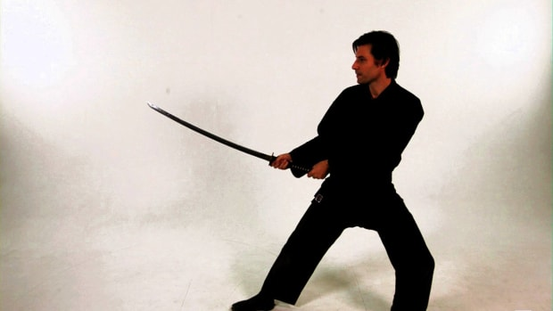 Z. How to Do the Jodan No Kamae Katana Sword Fighting Stance Promo Image