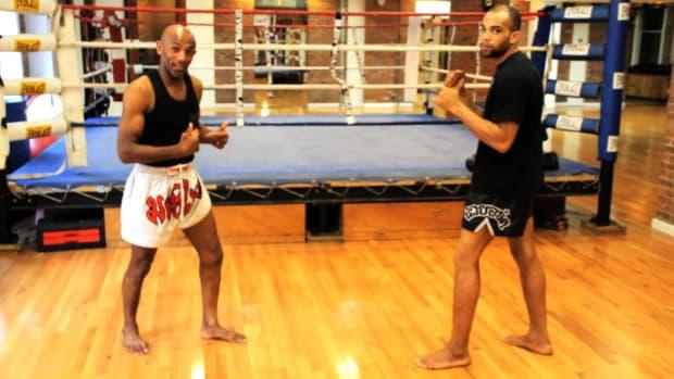 B. How to Do Footwork for UFC Training Promo Image