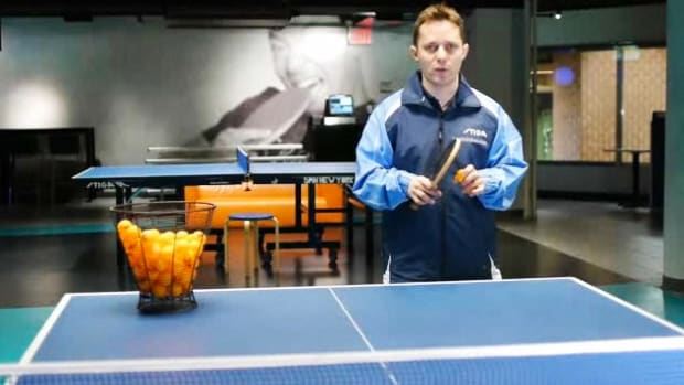 D. How to Return a Serve in Table Tennis aka Ping Pong Promo Image