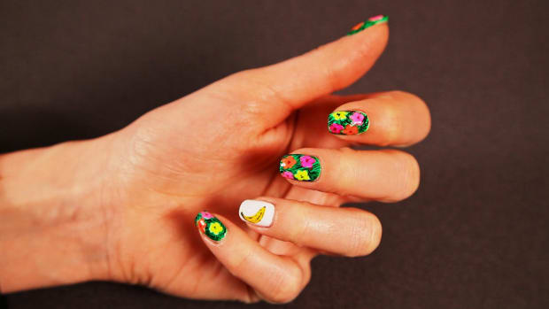 G. How to Do the Warhol Banana Nail Design Promo Image