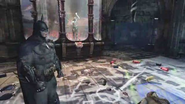 W. Batman Arkham City Walkthrough Part 23 - Museum War Room Promo Image