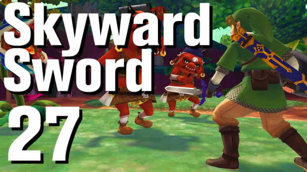 ZA. Zelda: Skyward Sword Walkthrough Part 27 - Skyloft Promo Image