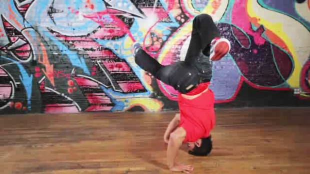 ZA. How to Do a Headspin B-Boy Dance Move Promo Image