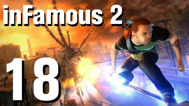 R. inFamous 2 Walkthrough Part 18: Conduit, Not Human (2 of 2) Promo Image