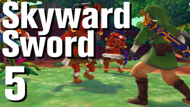 E. Zelda: Skyward Sword Walkthrough Part 5 - Waterfall Promo Image