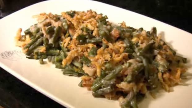 N. How to Make Green Bean Casserole Promo Image