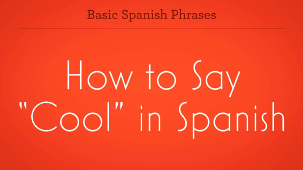 "ZY. How to Say ""Cool"" in Spanish Promo Image"