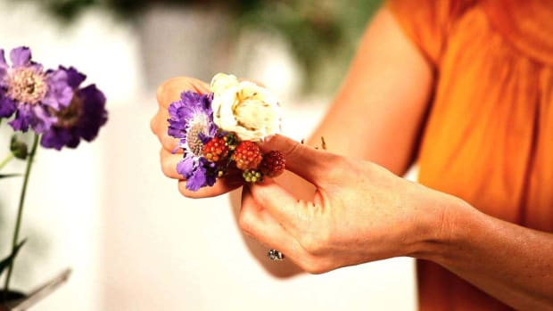 I. How to Pick Flowers for a Pin-On Corsage Promo Image