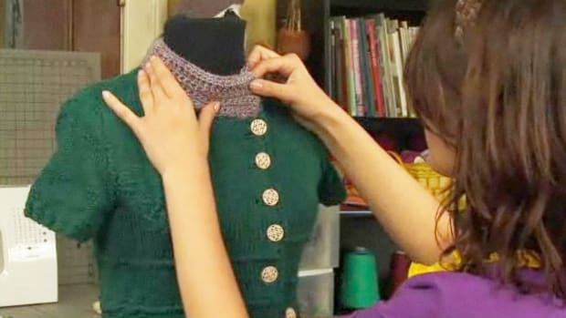 A. How to Add Crochet Embellishments to Clothing Promo Image