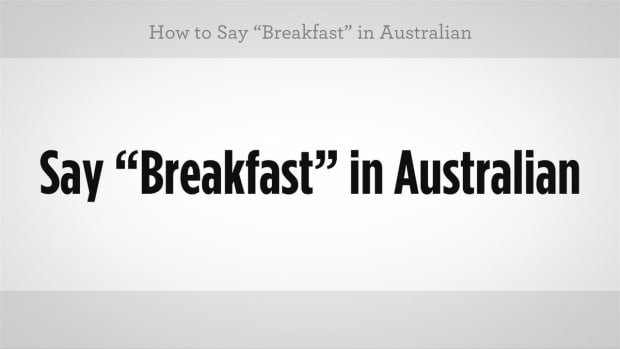 "ZC. How to Say ""Breakfast"" in Australian Slang Promo Image"