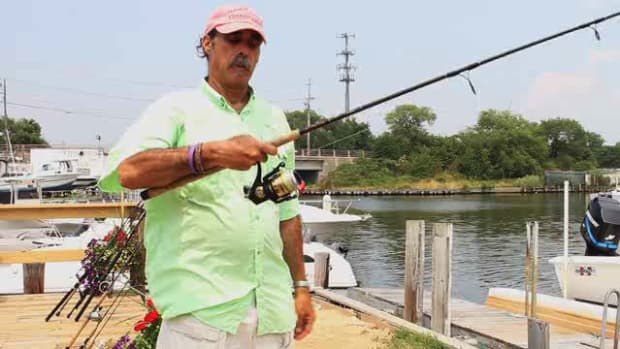 E. How to Cast a Spinning Outfit for Saltwater Fishing Promo Image