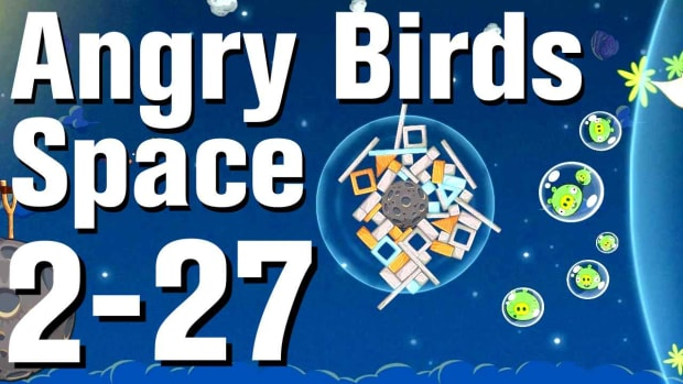 ZZE. Angry Birds: Space Walkthrough Level 2-27 Promo Image
