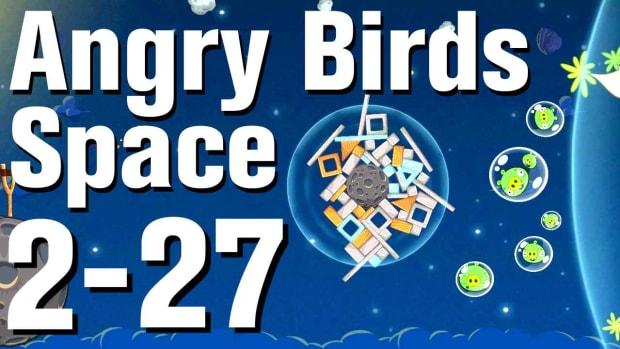 ZZE. Angry Birds: Space Walkthrough Level 2-27 Promo Image