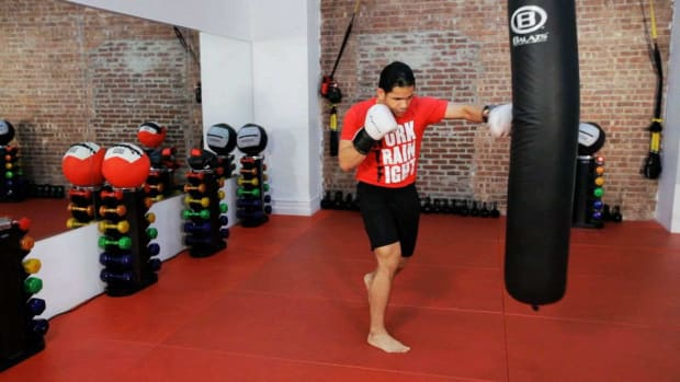 D. How to Do a Kickboxing Jab Cross Promo Image