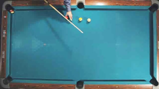 "T. How to Make the ""2-Rail"" Kick Pool Shot Promo Image"