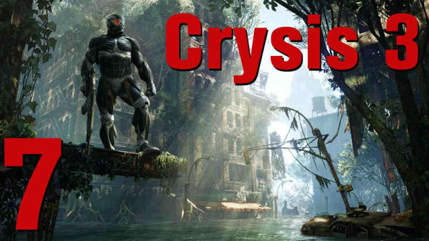 E. Crysis 3 Walkthrough Part 14 - Only Human Promo Image