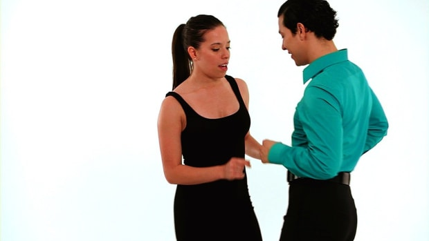 O. How to Do Solo Freestyle Steps in Merengue Promo Image