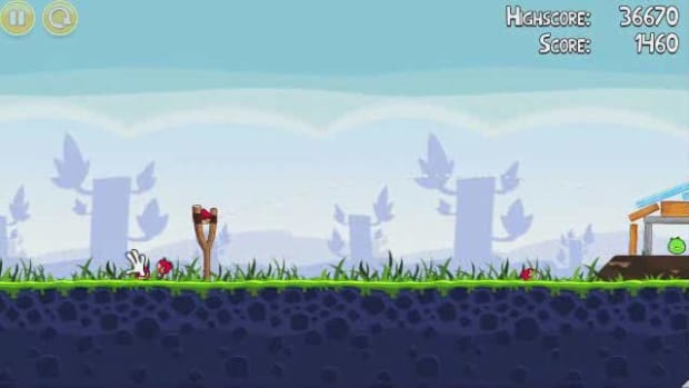 D. Angry Birds Level 1-4 Walkthrough Promo Image