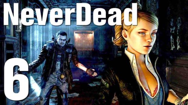 F. NeverDead Walkthrough - Part 6 Boss Fight: Sword Pig Promo Image