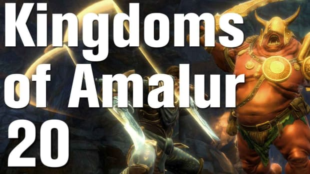 T. Kingdoms of Amalur: Reckoning Walkthrough Part 20 - Enemies in High Places Promo Image