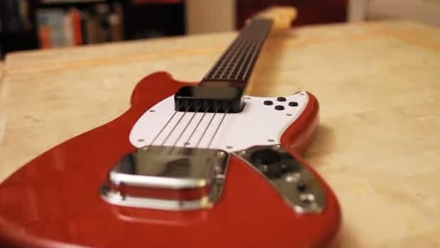 A. How to Use the Fender Mustang Pro Guitar Controller for Rock Band 3 Promo Image