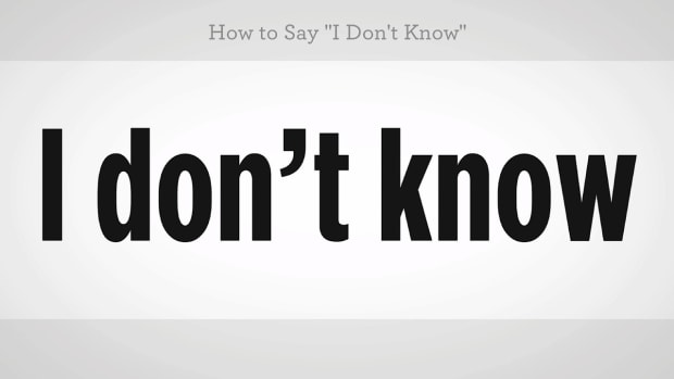 "ZZM. How to Say ""I Don't Know"" in Mandarin Chinese Promo Image"
