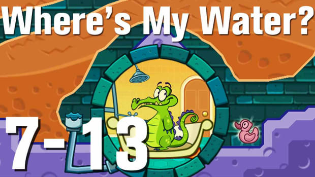 ZZZZZC. Where's My Water Walkthrough Level 7-13 Promo Image