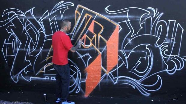 R. How to Do 3D Graffiti Promo Image