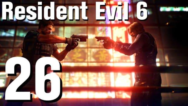 Z. Resident Evil 6 Walkthrough Part 26 - Chapter 3 Promo Image