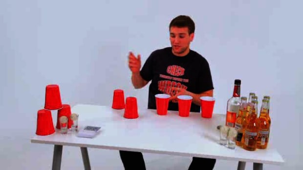 ZA. How to Play the Drinking Game Flip Cup Survivor Promo Image