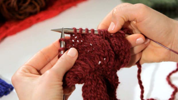 ZD. How to Do a Slip Stitch in Knitting Promo Image