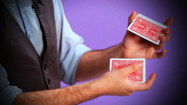 T. How to Do the Overhand Shuffle in Card Magic Promo Image