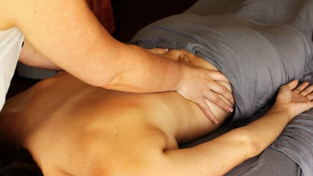 L. How to Deep Tissue Massage the Lower Back Promo Image