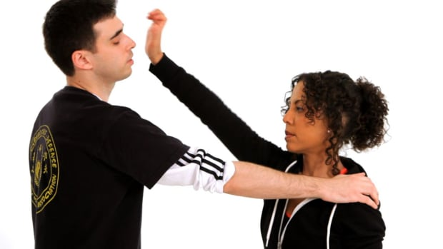 I. How to Attack an Assailant's Nose in Self-Defense Promo Image