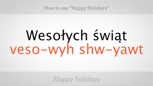 "ZK. How to Say ""Happy Holidays"" in Polish Promo Image"