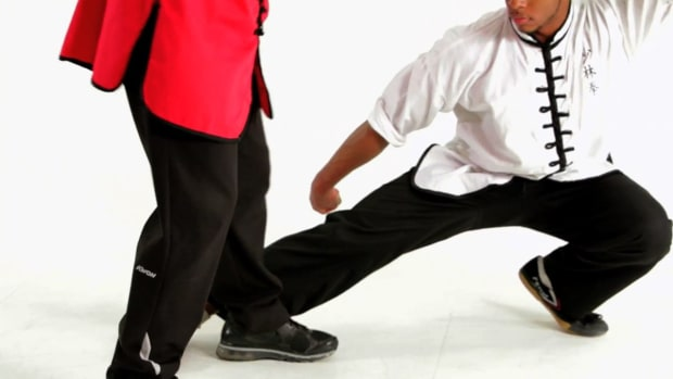 ZZG. How to Do the Sweeping Technique in Shaolin Kung Fu Promo Image
