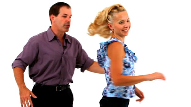 M. How to Do the Swing Dance Tuck Turn with a Free Spin Promo Image