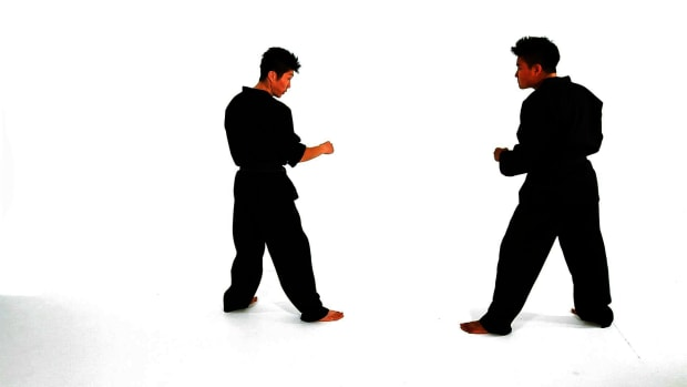 G. How to Do a Closed Stance & Open Stance in Taekwondo Promo Image