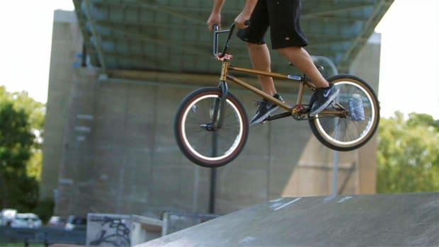 Z. How to Do a 360 to Fakie on a BMX Promo Image