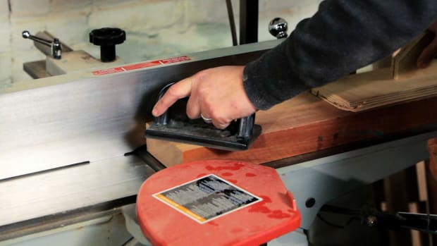 T. How to Use a Jointer for Woodworking Promo Image