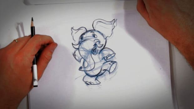 P. Secrets of Drawing Cartoons Promo Image
